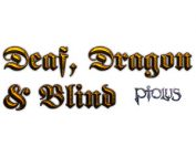 The Deaf Human Mage Wizard Pact Exploiter with Dragonborn Fighter and a Blind Life Oracle in Ptolus the City by the Spire Logo