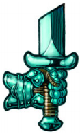 Order of Iron Might symbol in Ptolus the City by the Spire