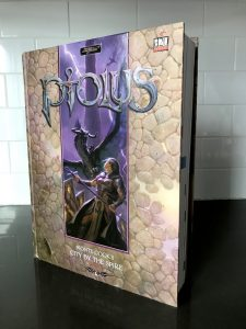 Buy the Ptolus City by the Spire Book from DriveThruRPG by Monte Cook in Hardback or Linked PDF Format Sword and Sorcery D20 Dungeons and Dragons Pathfinder