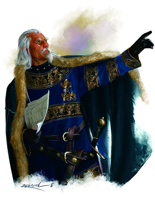 Commissar Igor Urnst of Ptolus the City by the Spire