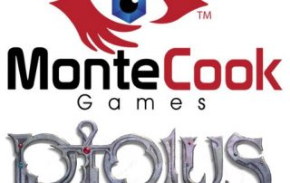Monte Cook Games Logo Ptolus City by the Spire Campaign Adventure Journals for the Runewardens,and the Company of the Black Lantern