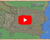 Ptolus City by the Spire Map by Monte Cooke Games YouTube Video Advice Guidance Recommendations Ptol.us Dungeons Dragons Pathfinder 5E 5th Edition DND 3.5