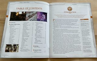 Ptolus Player's Guide to The City By The Spire Table of Contents Monte Cook Games 5E DND 5th Edition Dungeons and Dragons and Cypher System