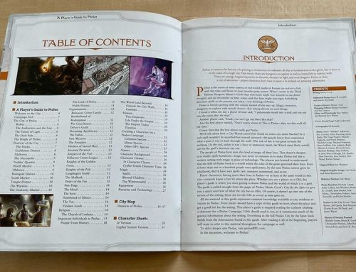 The Ptolus 5E Player's Guide is being Shipped!