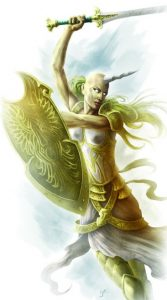 Aoska, Representative of the Malkuth of Ptolus the City by the Spire