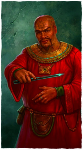 Arkhall Vaugn, Chief Wizard of Ptolus the City by the Spire