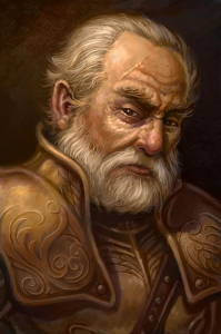 Ashby Gerard, Retired Watch Commander of Ptolus the City by the Spire