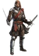 Boren Darsal, Famous warrior of Ptolus the City by the Spire