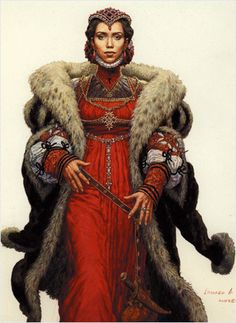 Brunhild Urnst, Wife of the Commissar of Ptolus the City by the Spire