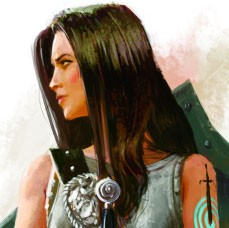 Dierna Hillerchaun, Knights of the Pale Leader of Ptolus the City by the Spire