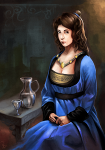 Fransin, Lady of House Nagel of Ptolus the City by the Spire