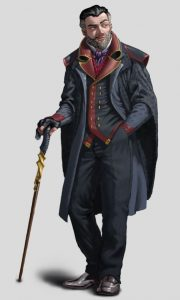 Heffrul Dominarik, Minister of Health of Ptolus the City by the Spire