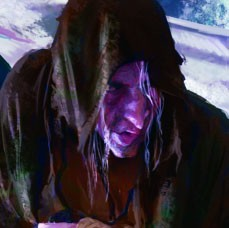 Karetsan, Leader of Zar'at Harrow Elves of Ptolus the City by the Spire