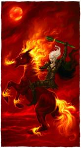 Kevris Killraven, Leader of Killravens of Ptolus the City by the Spire