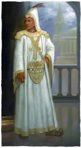 Kirian Ylestos, Holy Prince of the Church of Ptolus the City by the Spire