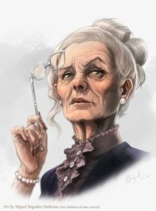 Klaron Dallimothan, Great aunt of Ptolus the City by the Spire