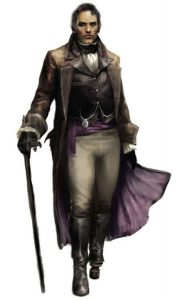 Marcus Niolanthor, Minister of Guilds of Ptolus the City by the Spire