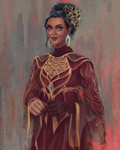 Mila Stovan, Lady of House Abanar