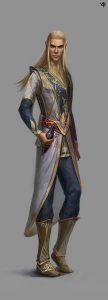 Moynath Autumnsong, Elven Mage of Ptolus the City by the Spire