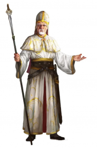 Nireus Pard, Bishop of Lothian in Ptolus of Ptolus the City by the Spire