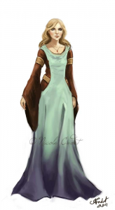 Redalla Shever, Wife of Thollos of Ptolus the City by the Spire