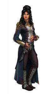 Tamora Rigan, member of Ptolus Noble House Abanar