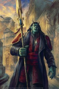 Urlenius the Ogre-Mage, Star of Navashstrom of Ptolus the City by the Spire