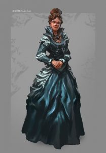 Yarranna Montass, Minister of Trade of Ptolus the City by the Spire